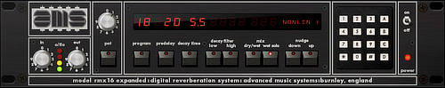 AMS RMX 16 Digital Reverberation System 6