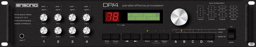 Ensoniq DP/4 Parallel Effects Processor