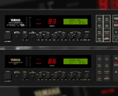 Yamaha Rev5 and Yamahe Rev7 Audio Samples