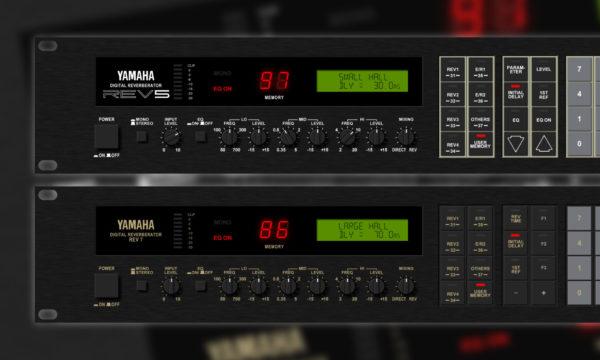 Yamaha Rev5 and Yamahe Rev7 Audio Samples
