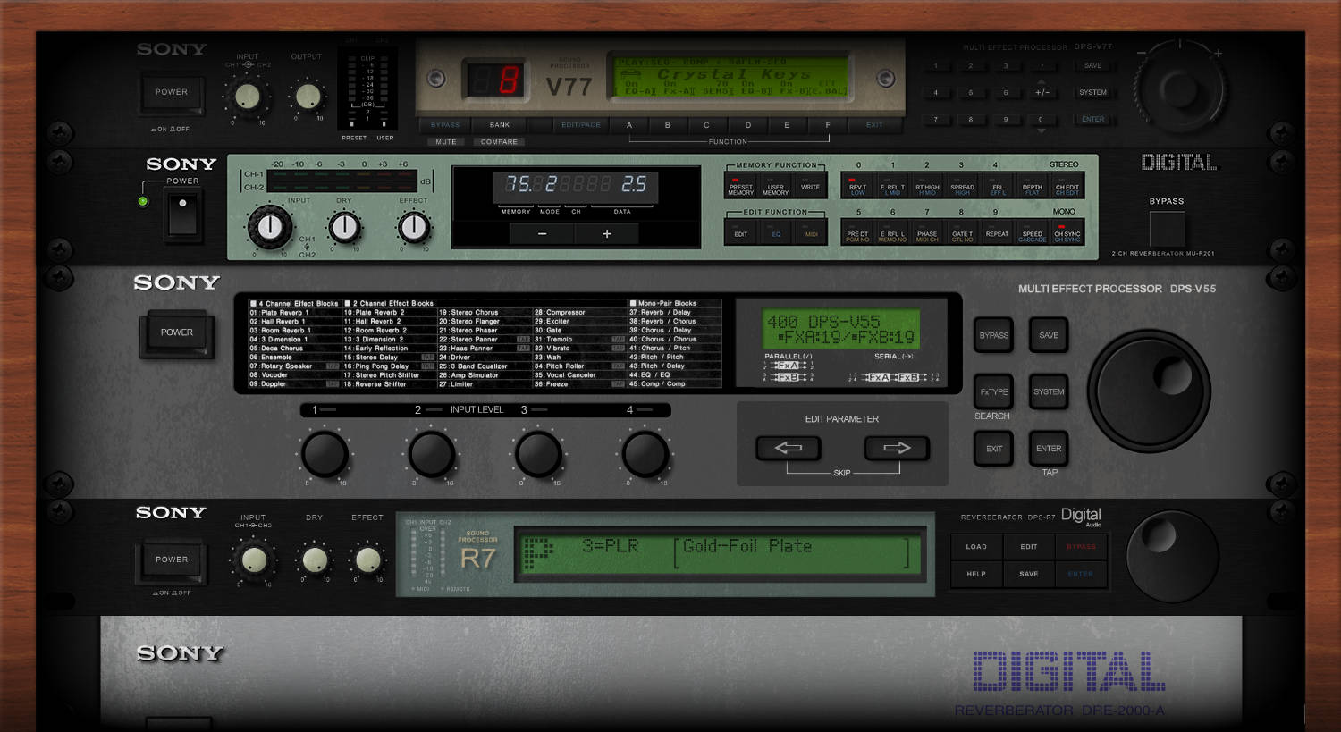 The Evolution of Sony Signal Processors