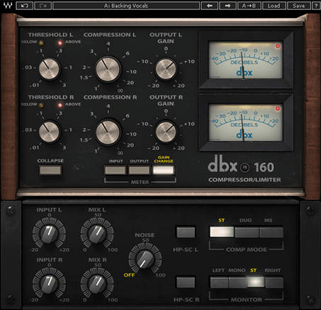 Waves DBX 160 Plug-In